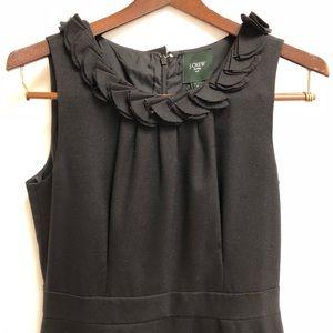 J Crew Suiting black wool blend dress Size 6